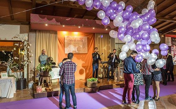 Gala de Novios con regalo seguro para todas las parejas