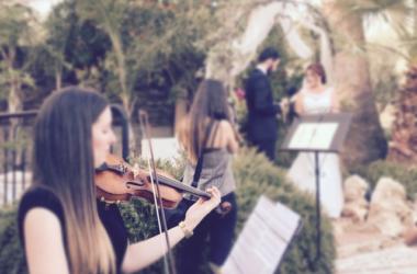 Un violín en tu boda